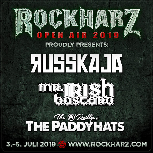 cb19f2166b6 Let s go for a party trio at ROCKHARZ 2019! To be more specific  RUSSKAJA