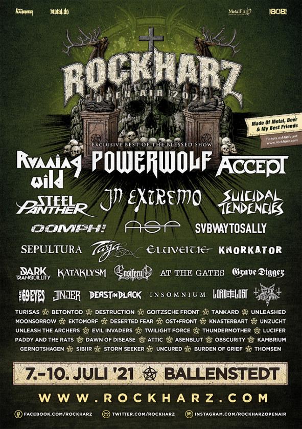 Rockharz Festival Flyer